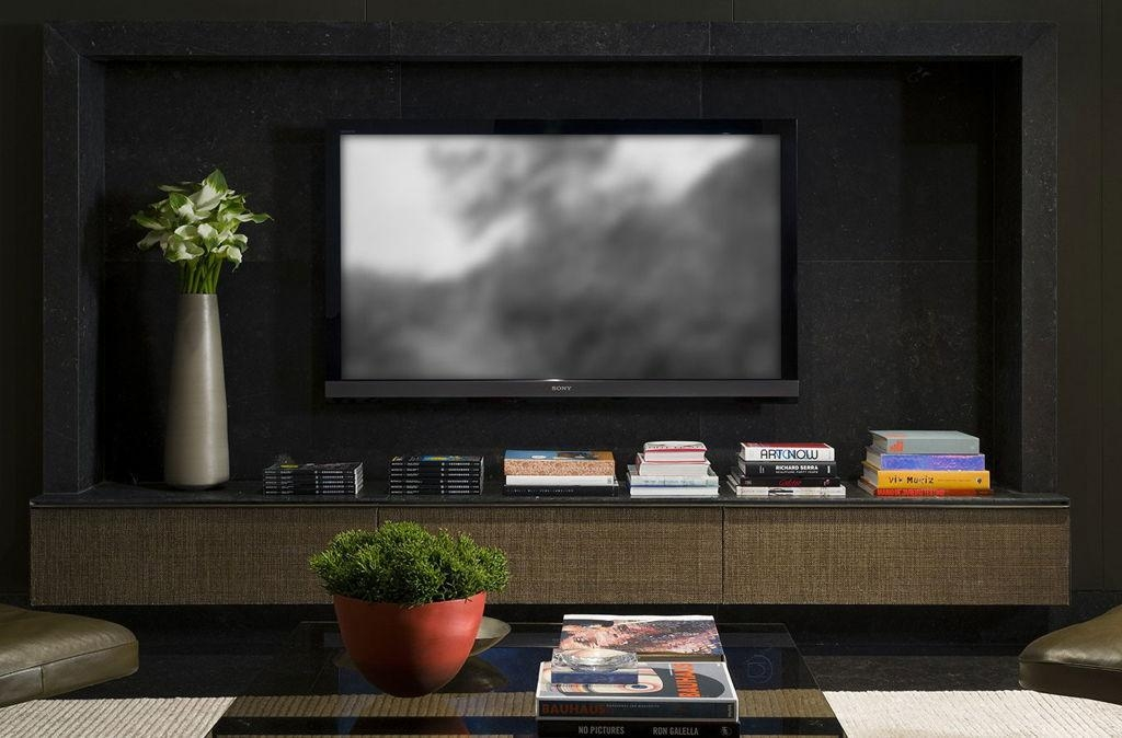 Living Room : Customized Modern Living Media Room Design With Inside Recent Fancy Tv Cabinets (Image 13 of 20)