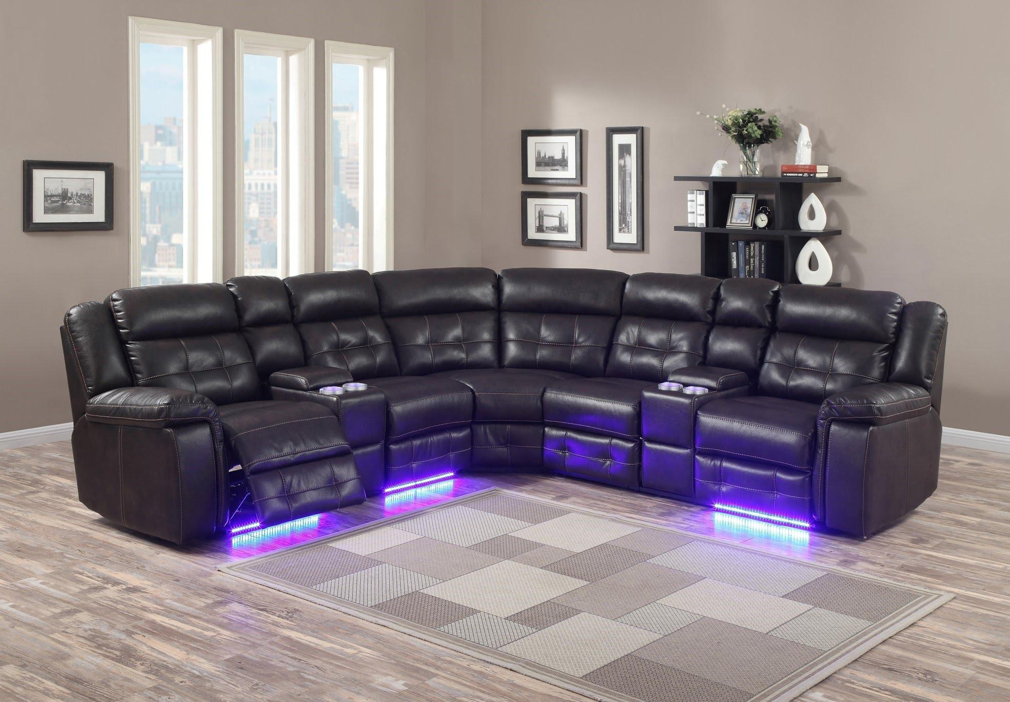 Living Room: Exciting Sofa Set For Sale Cheap Couch, Sofa Set Within Sofas With Lights (View 21 of 21)