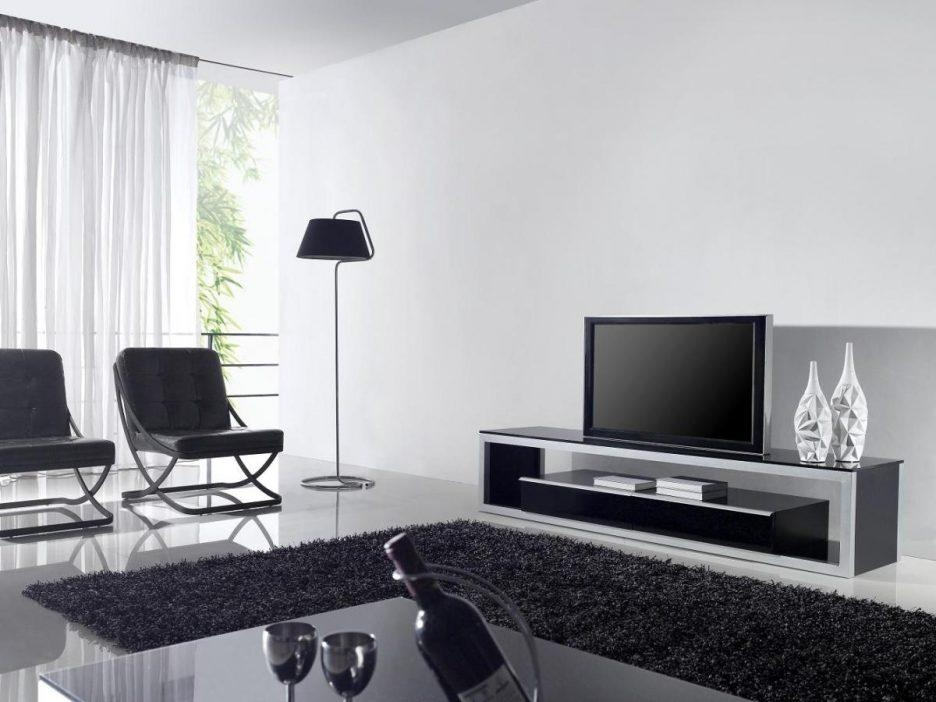 Living Room : Extraordinary Tv Stand Living Room Furniture With With Newest White And Black Tv Stands (Image 9 of 20)