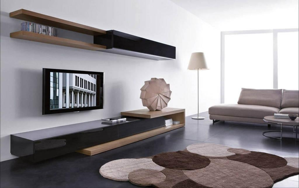 Living Room : Fancy Living Room Interior Design With Modern Tv Within Best And Newest Unusual Tv Units (Image 10 of 20)