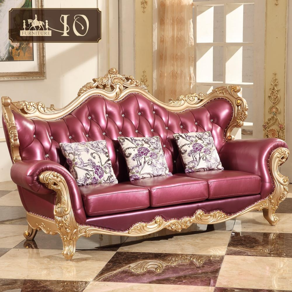 Living Room Furniture, Living Room Furniture Suppliers And With Regard To European Leather Sofas (View 15 of 21)