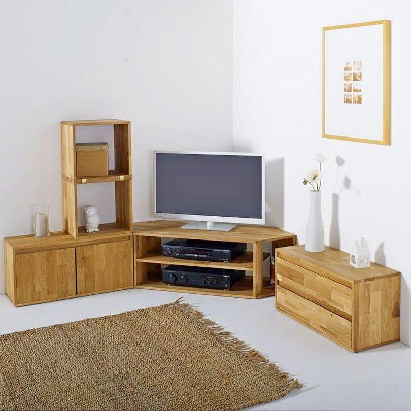 Living Room : Nice Oak Modern Corner Tv Units For Living Room Best With Regard To Latest Modern Corner Tv Units (Image 18 of 20)
