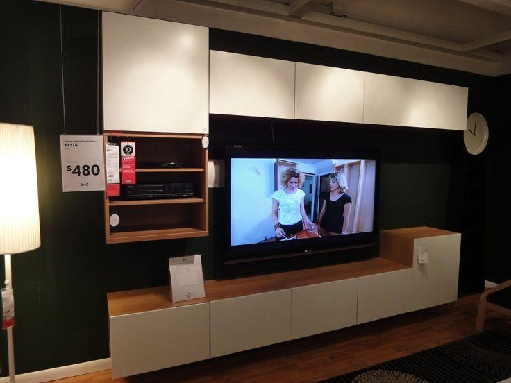 Living Room … | Pinteres… Pertaining To 2017 Wall Mounted Tv Cabinet Ikea (View 13 of 20)