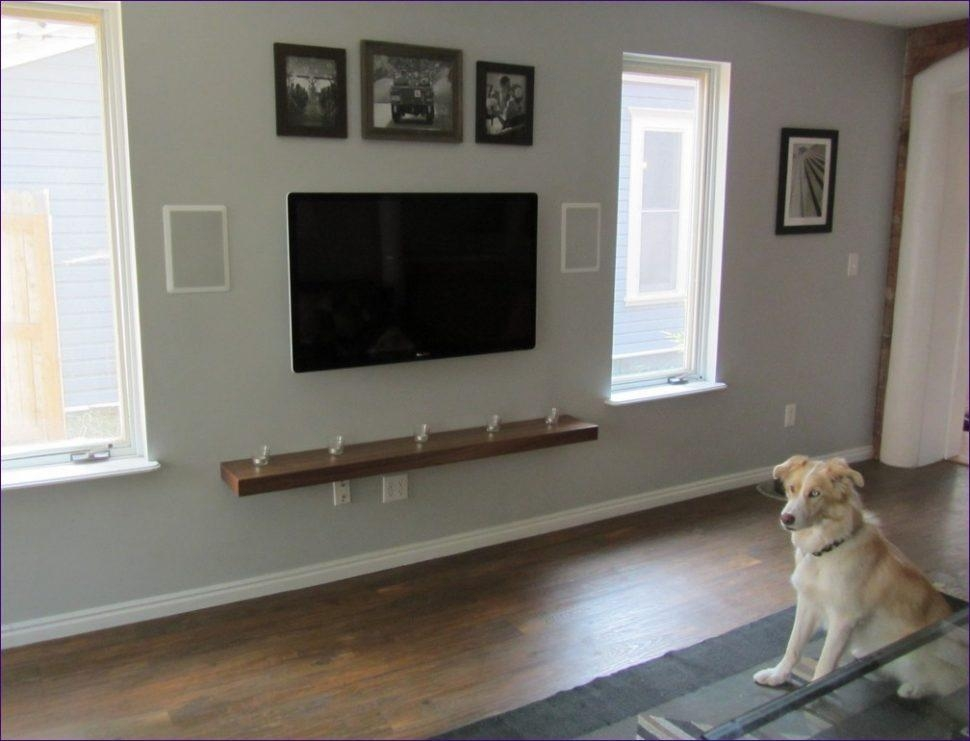 Living Room : Wonderful Corner Mount Tv Mount Target Flat Panel Tv With 2017 Wall Mounted Tv Stands For Flat Screens (Image 13 of 20)