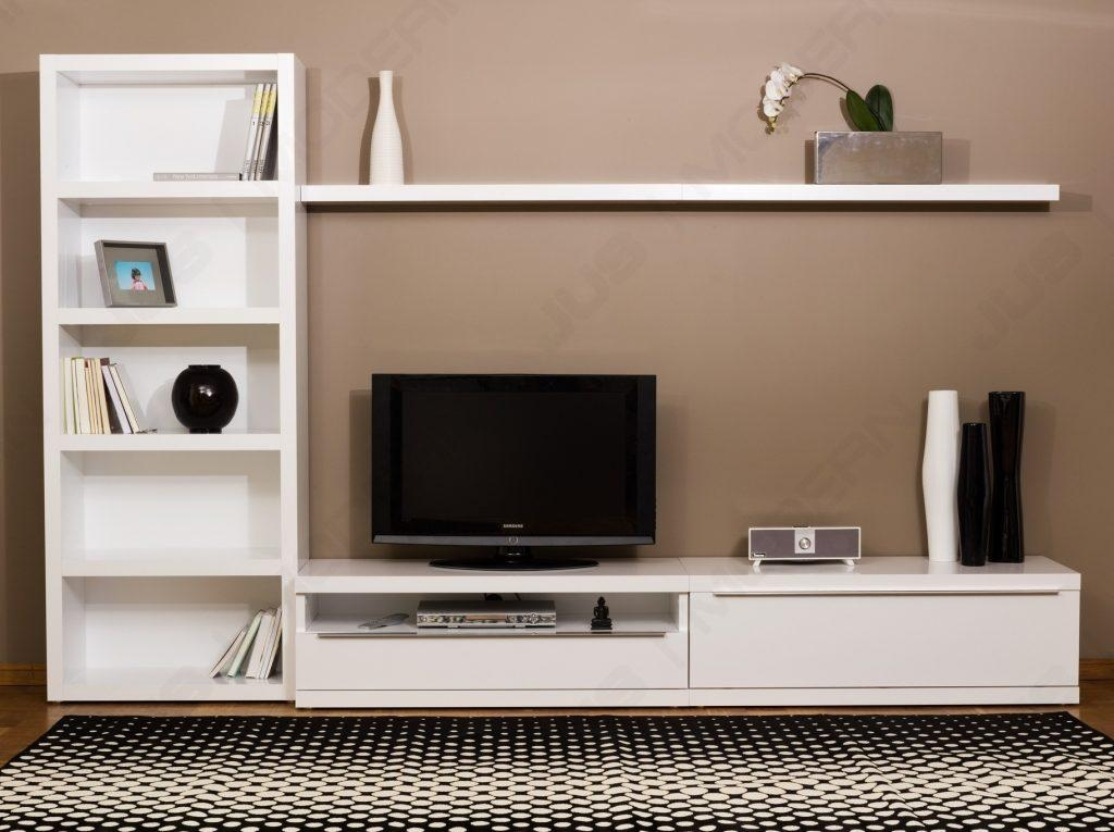 Living ~ Tv Stands For White Wood Tv Stand Bedroom Tv Unit Design In Most Popular Modular Tv Stands Furniture (View 5 of 20)