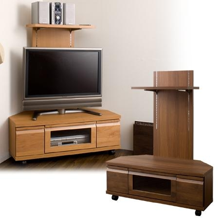 Livingut | Rakuten Global Market: Corner Tv Board Back Panel With Intended For 2018 40 Inch Corner Tv Stands (View 4 of 20)