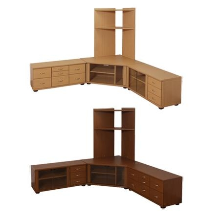 Livingut | Rakuten Global Market: Set 3 Piece Tv Stand Corner Tv Intended For 2018 Large Corner Tv Stands (Image 14 of 20)