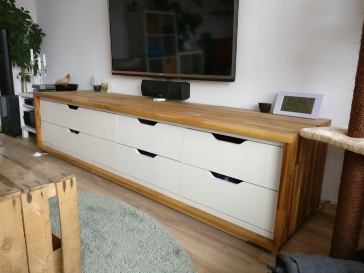Long Tv Stand From Ikea Stolmen – Ikea Hackers – Ikea Hackers Inside Most Recent Long Tv Stands (View 20 of 20)