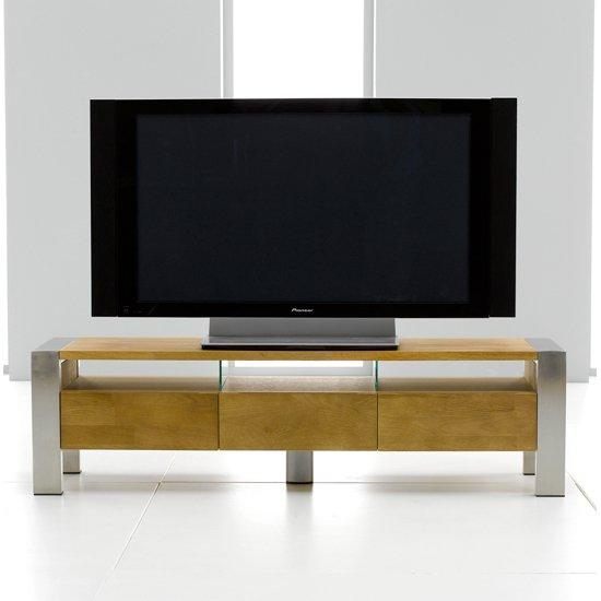 Louis Metal & Solid Oak Tv/entertainment Stand 13170 With Regard To Current Contemporary Oak Tv Stands (View 2 of 20)