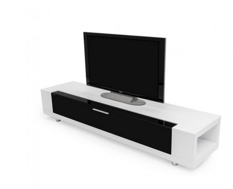 Featured Image of White And Black Tv Stands