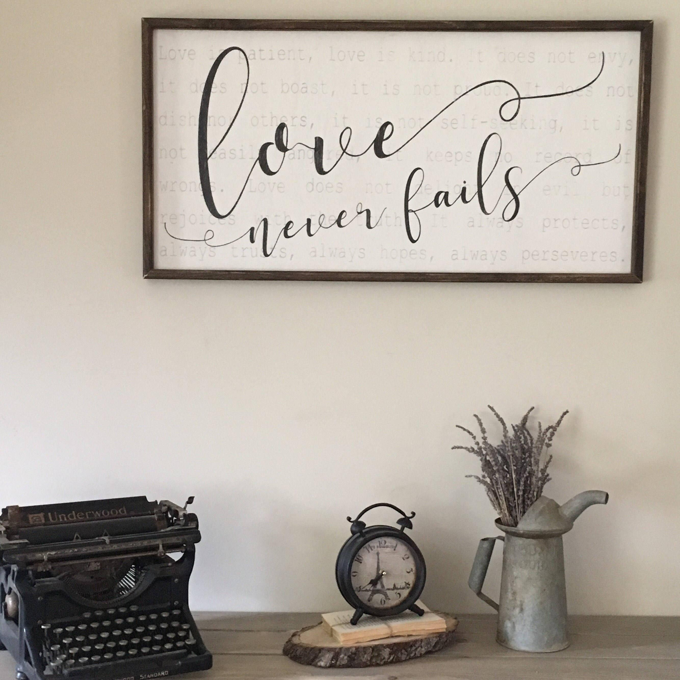 Featured Image of 1 Corinthians 13 Wall Art