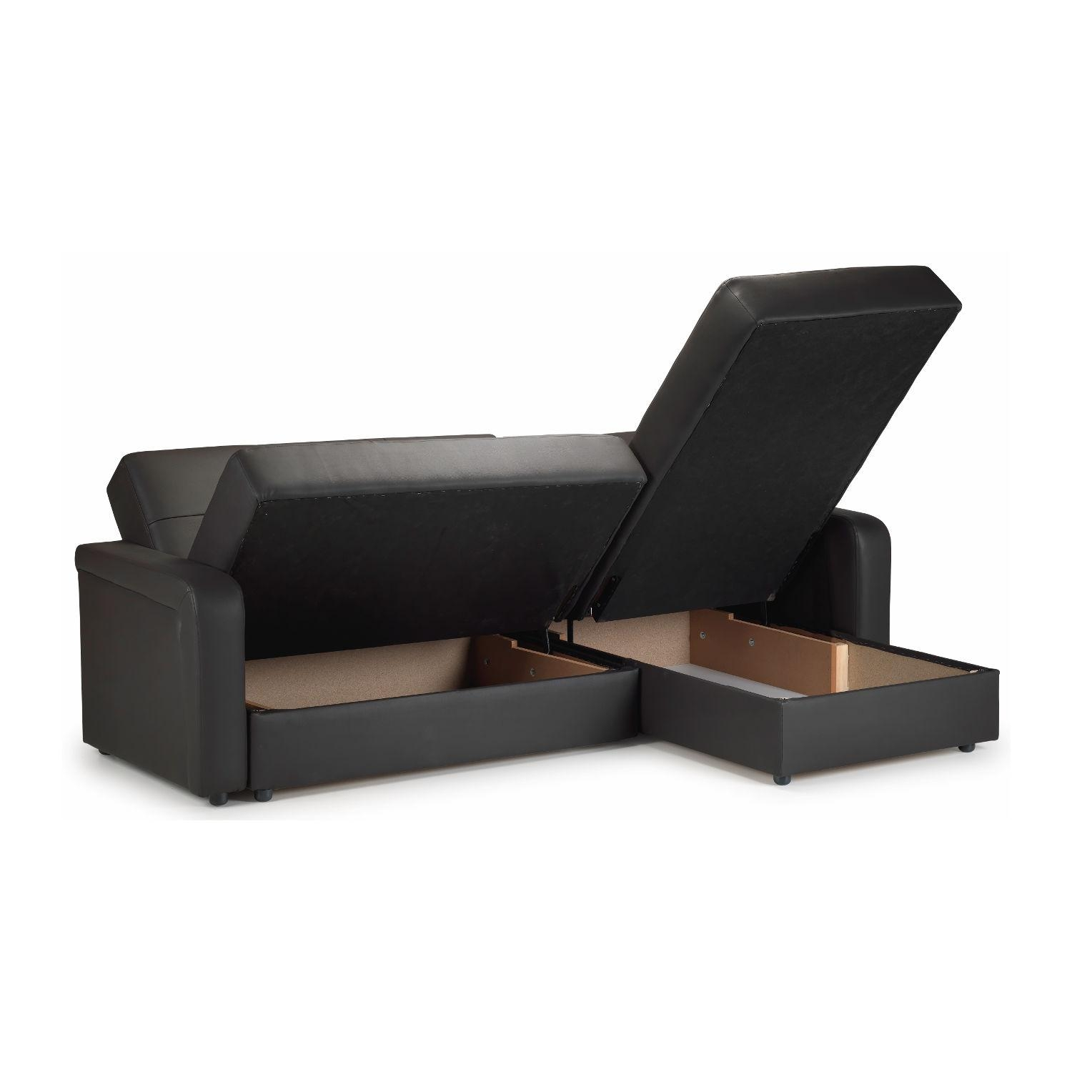 Featured Photo of Leather Storage Sofas