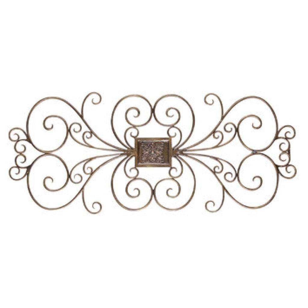 Lovely Faux Iron Wall Decor #15 Iron Scroll Wall Art Iron Scroll With Iron Scroll Wall Art (View 5 of 20)
