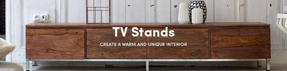 Low Priced Sheesham Tv Stands – Solid Sheesham Tv Stands – Tikamoon Intended For Newest Sheesham Tv Stands (Image 13 of 20)