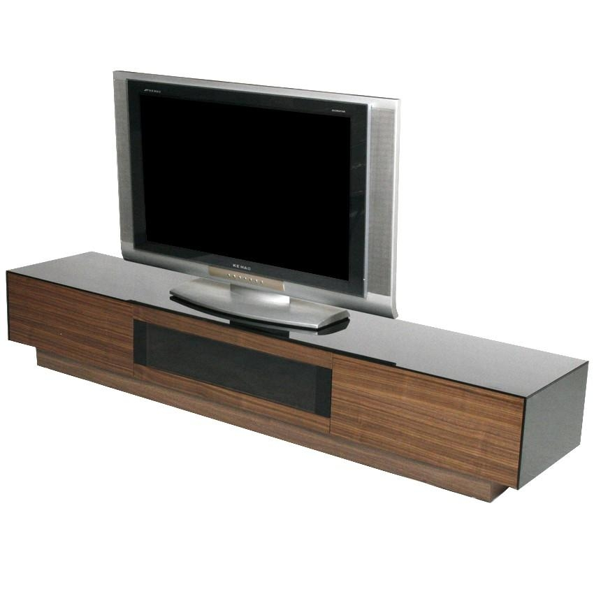 Low Profile Tv Stand Low Profile Modern Media Console Unit (Image 8 of 20)