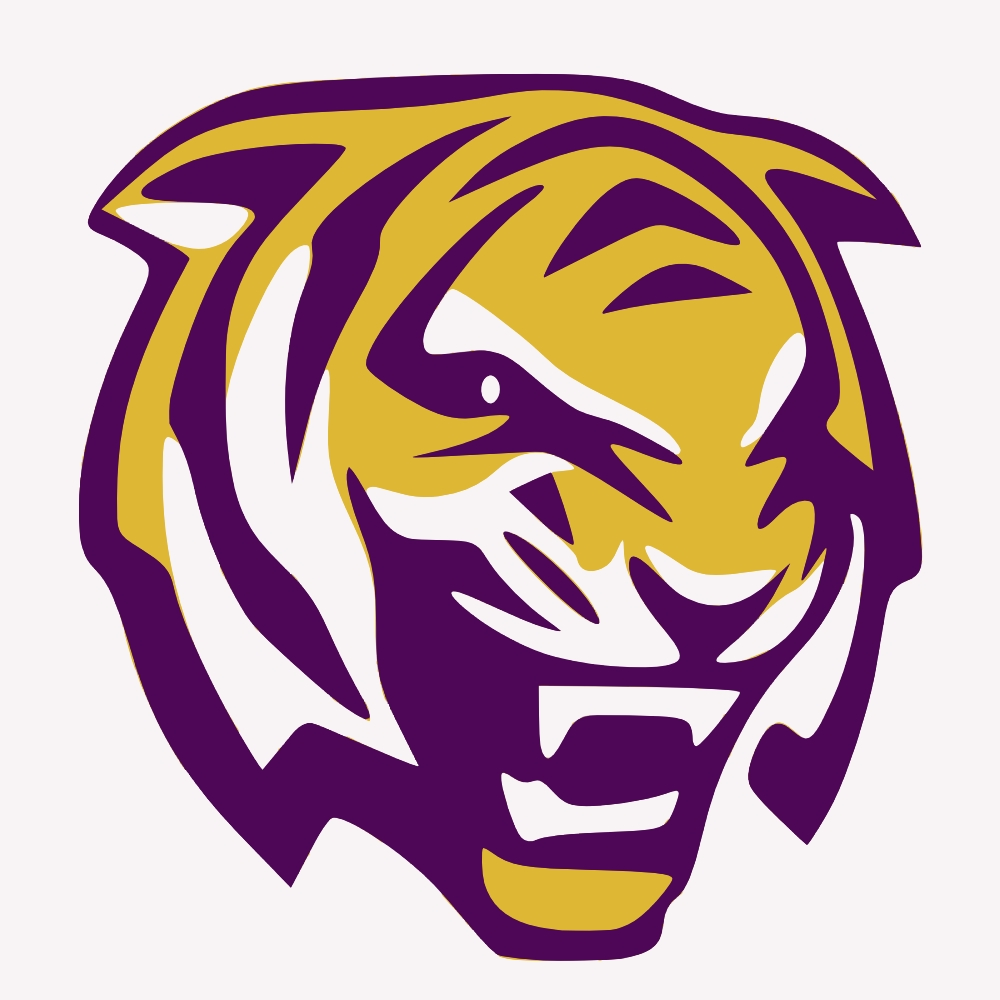Lsu Tiger Logo Clip Art (47+) With Lsu Wall Art (Image 14 of 20)