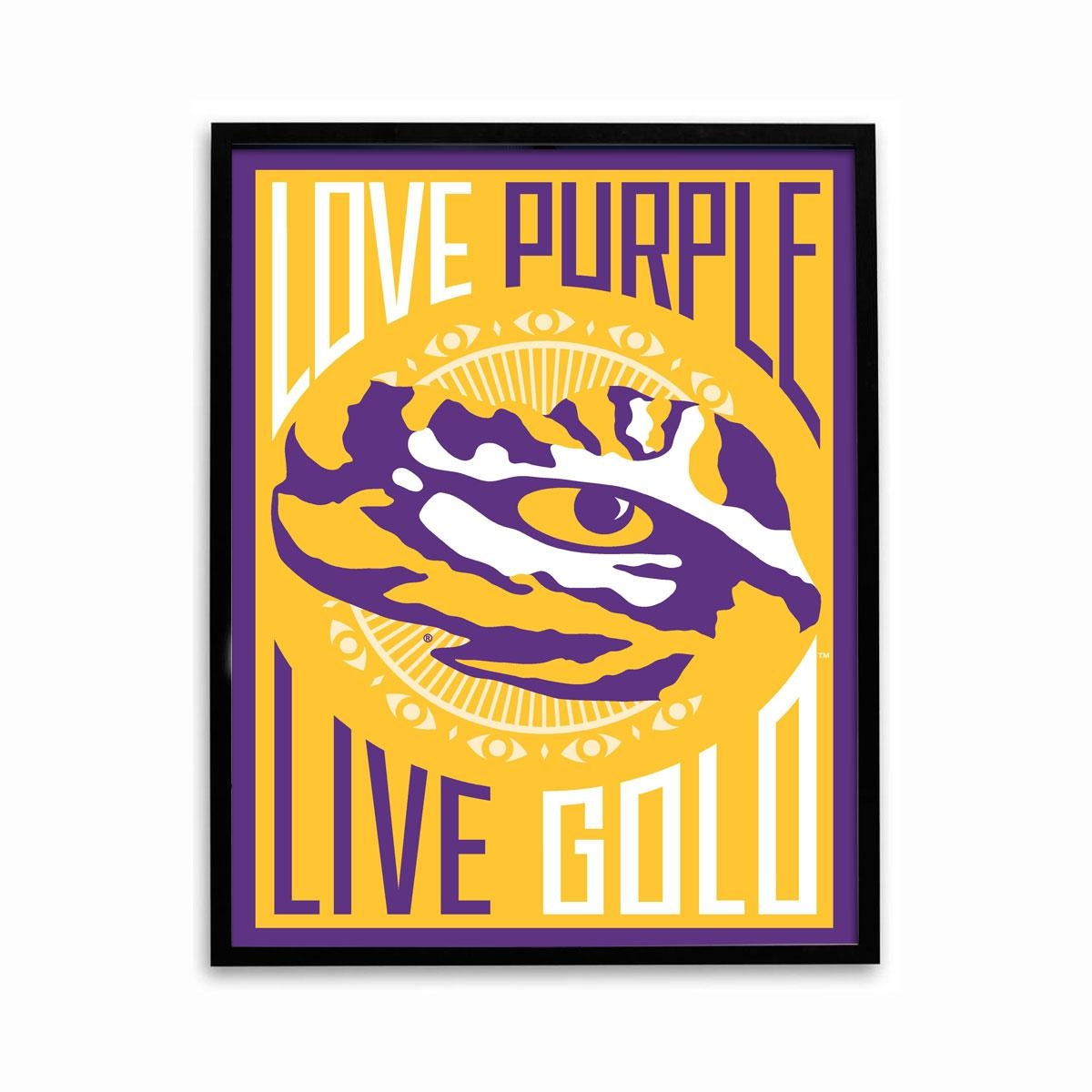 Lsu Tigers Roar Tyrann Mathieu Poster Football With Regard To Lsu Wall Art (View 5 of 20)