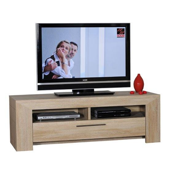 Lucena Light Oak Finish Lcd Tv Stand With 2 Shelf And Throughout Latest Light Oak Tv Corner Unit (Image 11 of 20)