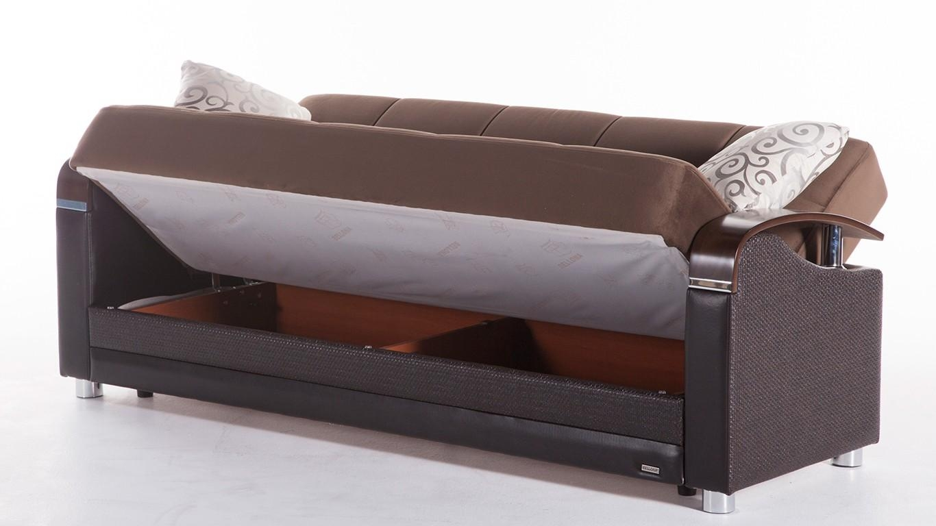 Luna Sofa Bed With Storage For Sofa Beds With Storages (View 11 of 20)