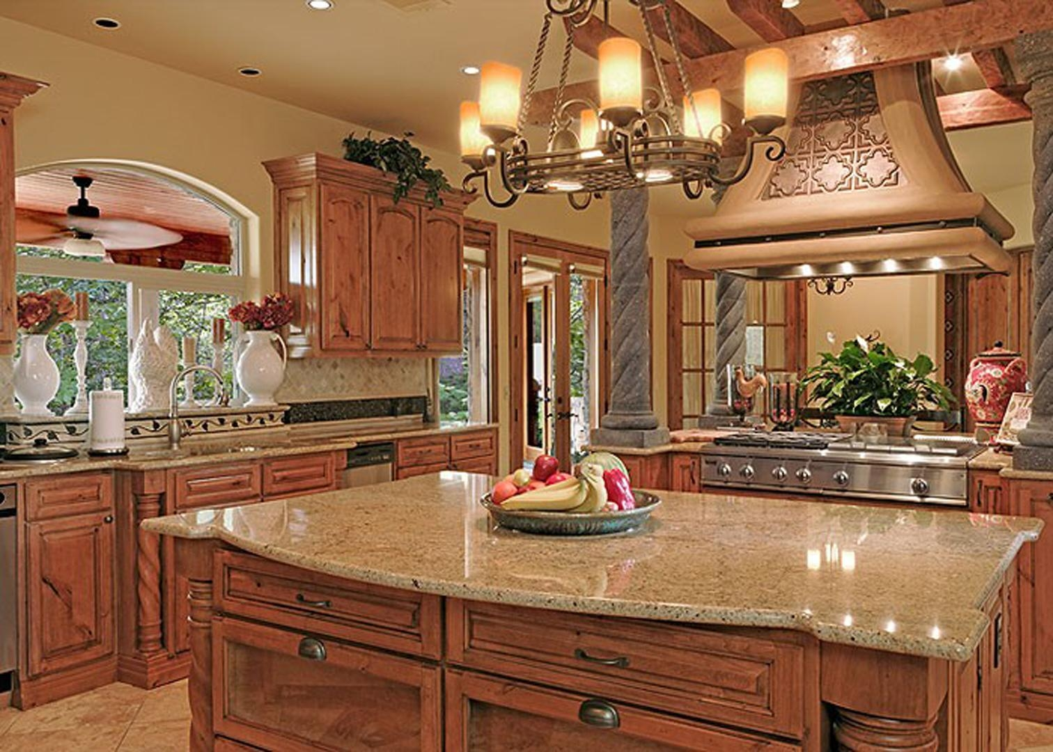 Luxurious Tuscan Kitchen Decorations | All Home Decorations With Italian Themed Kitchen Wall Art (View 17 of 20)