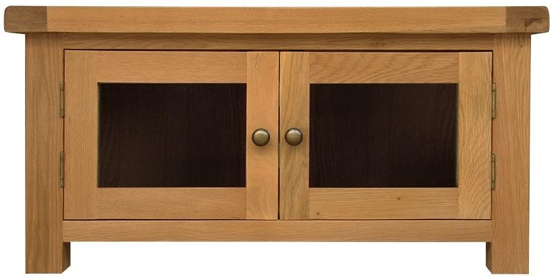 Luxury Height 32 5 Cm Width 100 Cm Depth 50 Cm Colour Sonoma Oak For Most Recent Oak Tv Cabinets With Doors (View 15 of 20)