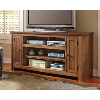 Macibery 60 Inch Tv Stand Signature Design | Furniture Cart With Regard To Best And Newest Tv Stands 38 Inches Wide (Image 10 of 20)
