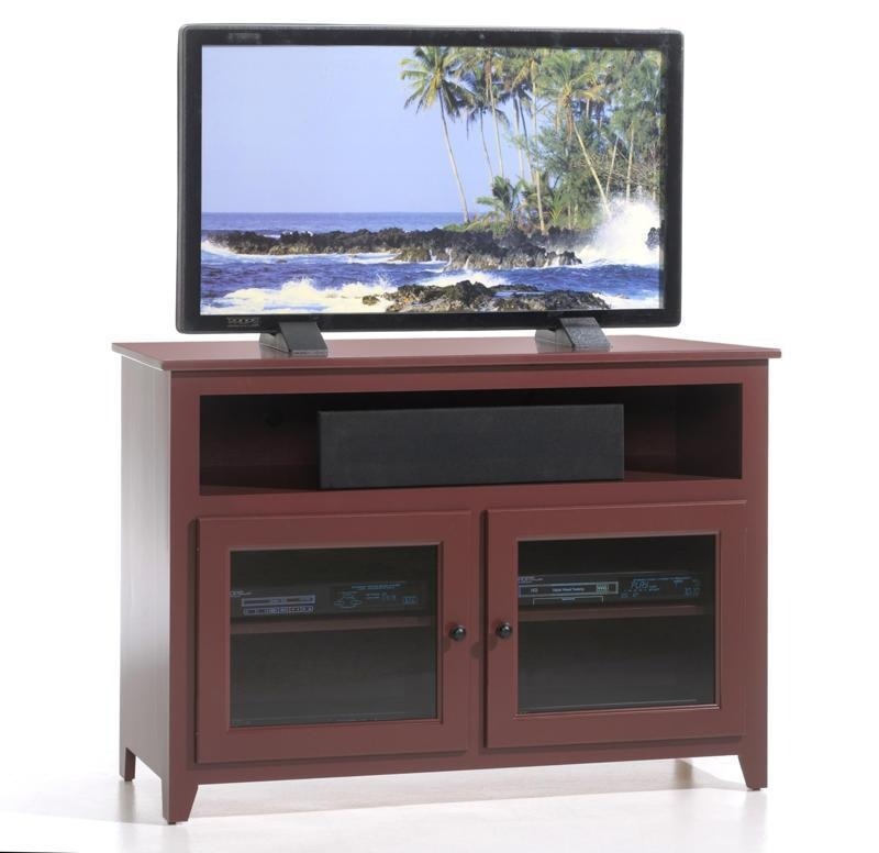 Made Tv Console Pertaining To Most Recent Cherry Wood Tv Stands (View 19 of 20)
