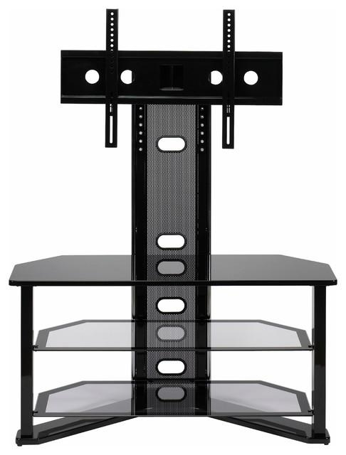 Madrid Flat Panel Tv Stand With Integrated Mount – Contemporary Within Most Up To Date Cordoba Tv Stands (View 16 of 20)