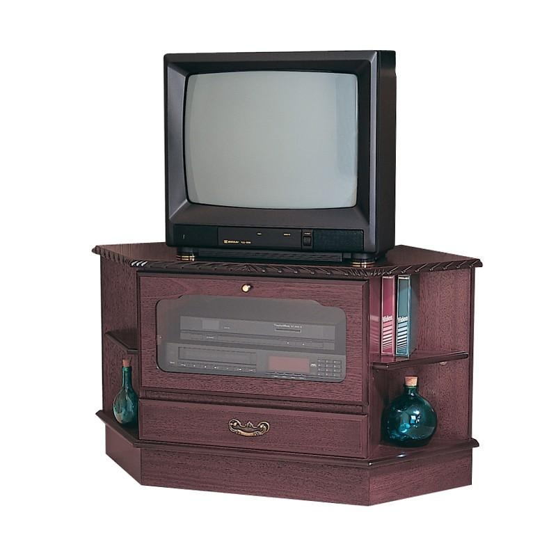 Mahogany Corner Tv Stand With Dvd Storage | Gola Furniture Uk Within Current Mahogany Corner Tv Cabinets (View 5 of 20)