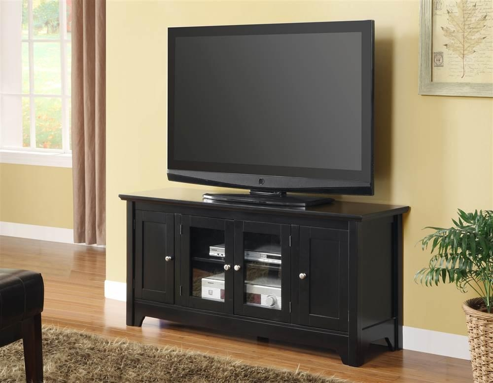 "Mainstays Tv Stand For Flat Screen Tvs Up To 47"", Multiple Finish In Latest Tv Stands For 43 Inch Tv (Image 13 of 20)"
