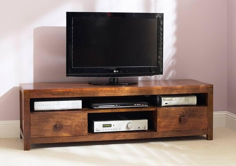 Mango Wood Tv Stand: The Natural Appeal — Bitdigest Design With Most Popular Mango Tv Stands (Image 10 of 20)