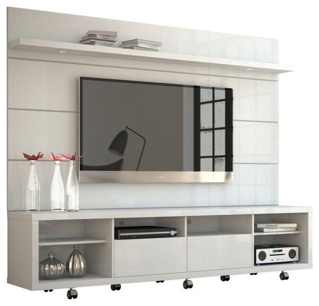 Manhattan Comfort Cabrini Tv Stand And Panel  (Image 14 of 20)
