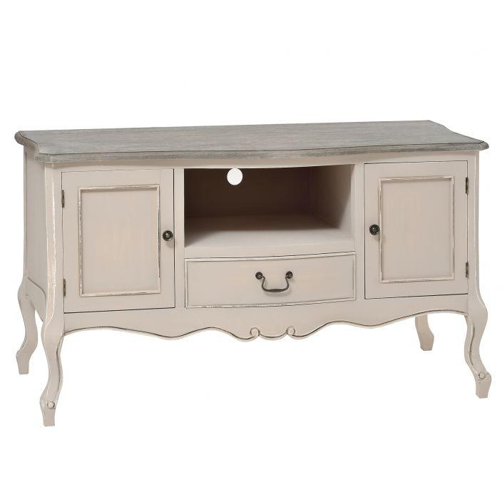 Manor House Shabby Chic Tv Cabinet | French Furniture Throughout Latest Shabby Chic Tv Cabinets (View 3 of 20)