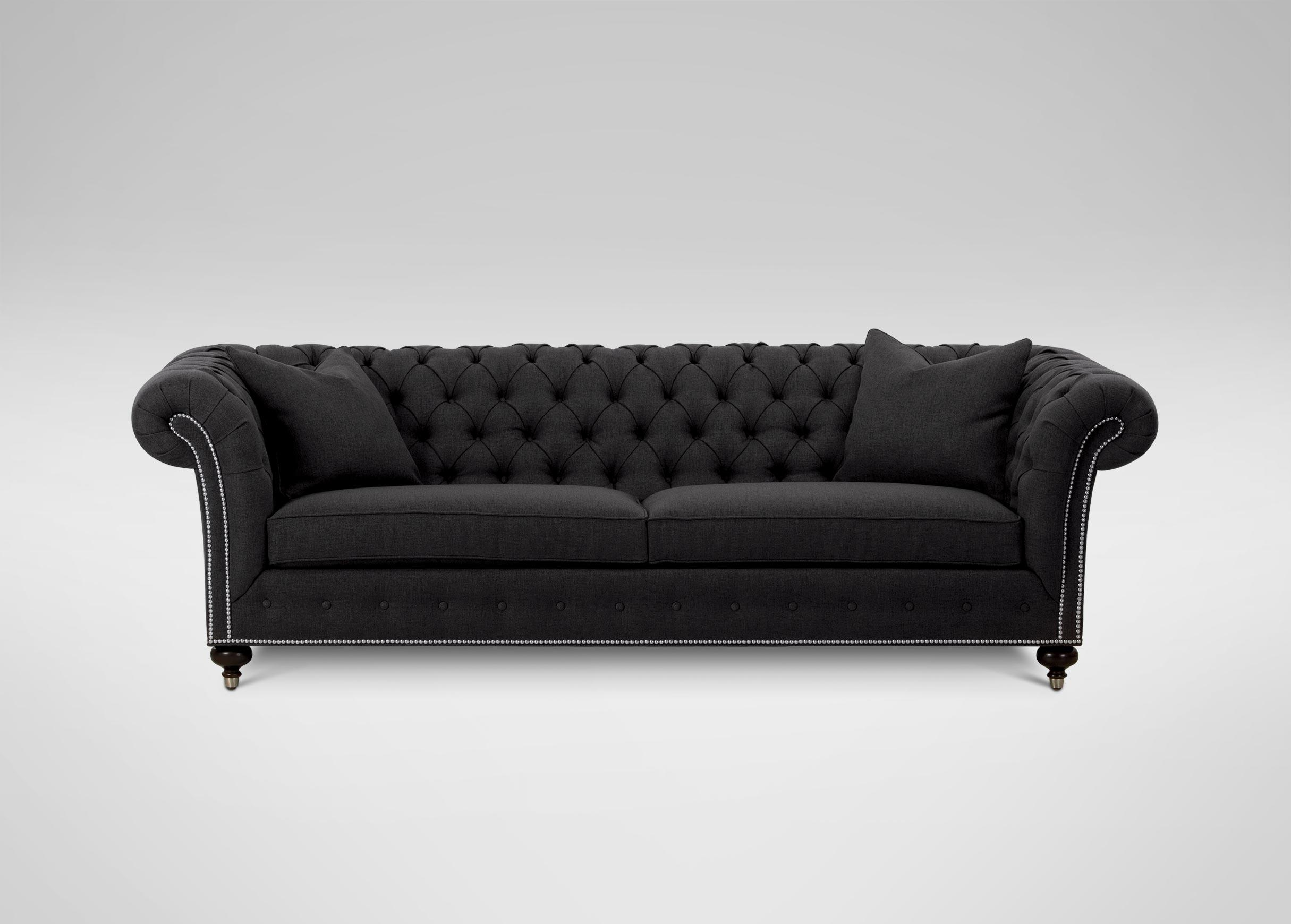 Mansfield Sofa | Sofas & Loveseats Regarding Chesterfield Black Sofas (View 15 of 20)