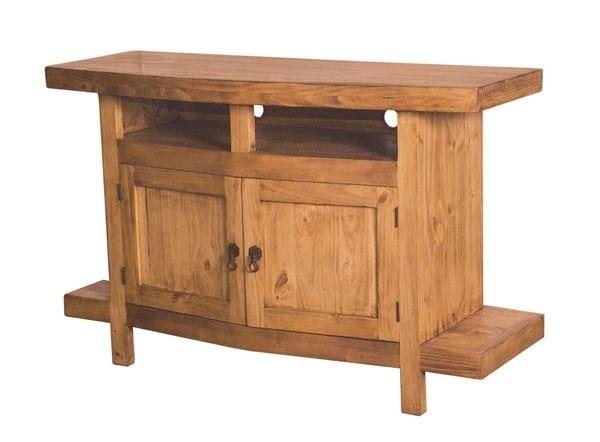 Mansion Country Pine Tv Stand | Tres Amigos World Imports Regarding Best And Newest Pine Tv Unit (View 18 of 20)