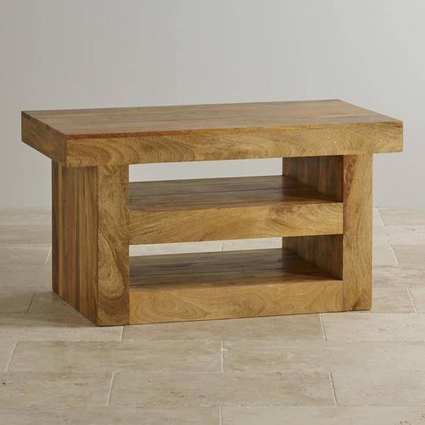 Mantis Light Natural Solid Mango Tv + Dvd Stand Pertaining To Most Popular Mango Wood Tv Stands (View 8 of 20)