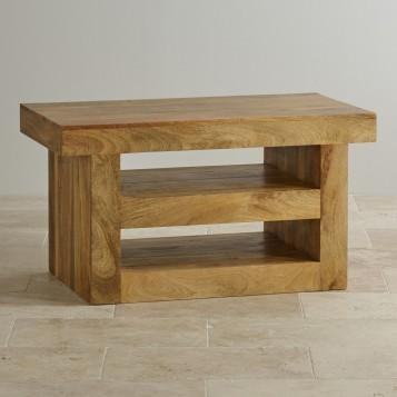 Mantis Light Natural Solid Mango Tv Stand Oak Furniture Land With Regard To Best And Newest Mango Tv Stands (Image 12 of 20)