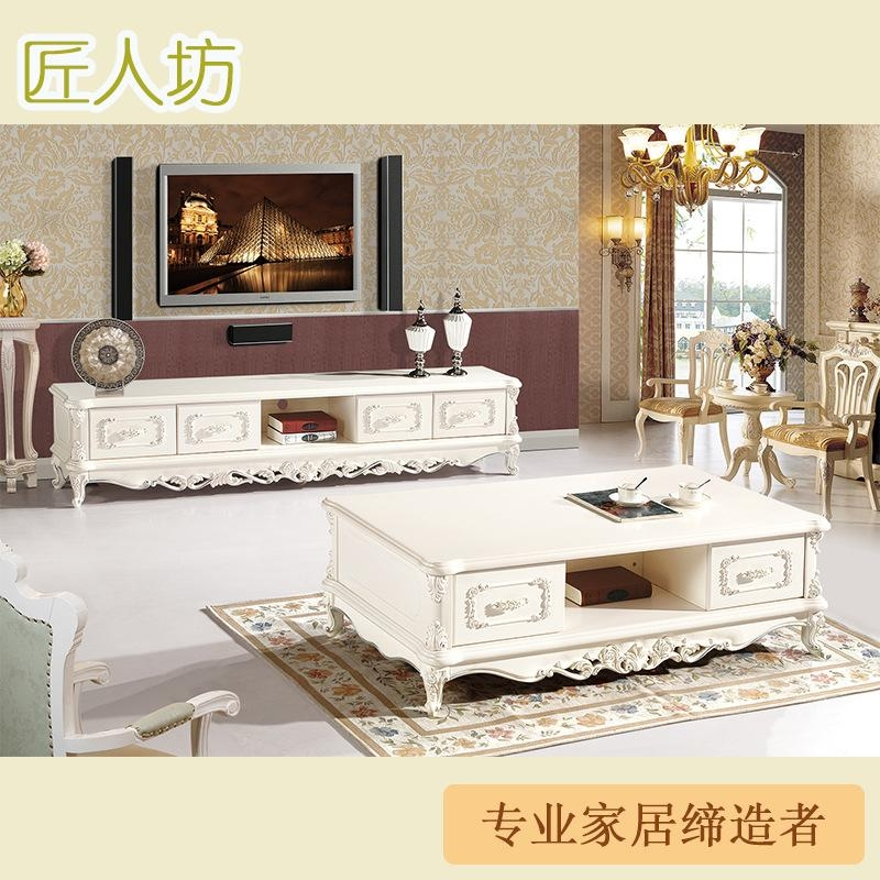 Marble Coffee Table Tv Cabinet Furniture Quality Ivory French Regarding Best And Newest French Country Tv Cabinets (View 10 of 20)