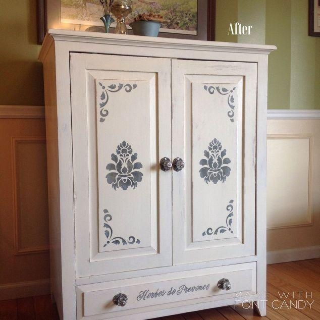 March #30Dayflip Furniture Flip Challenge | Arts And Classy Within Newest French Country Tv Cabinets (Image 13 of 20)
