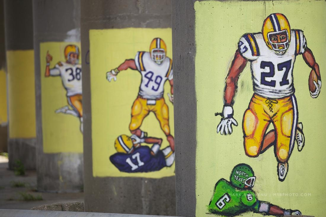 Mark Bienvenu | Lsu Football Paintings With Lsu Wall Art (View 19 of 20)