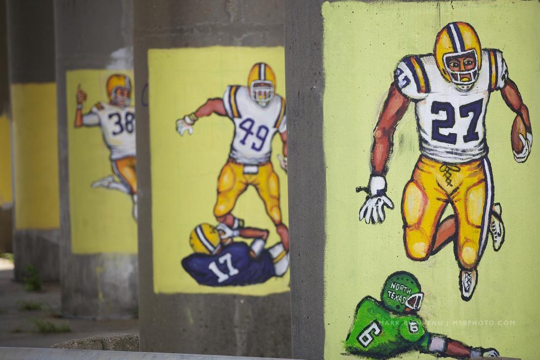 Mark Bienvenu | Lsu Football Paintings With Lsu Wall Art (Image 18 of 20)