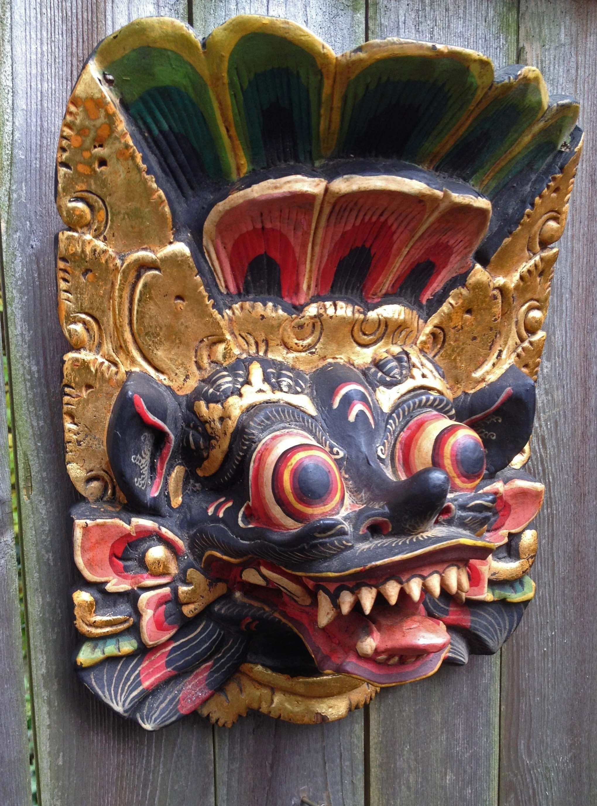 Mask,statue,tribal,art,africa,bali,java,indonesia,nepal, With Regard To Wooden Tribal Mask Wall Art (Image 15 of 20)