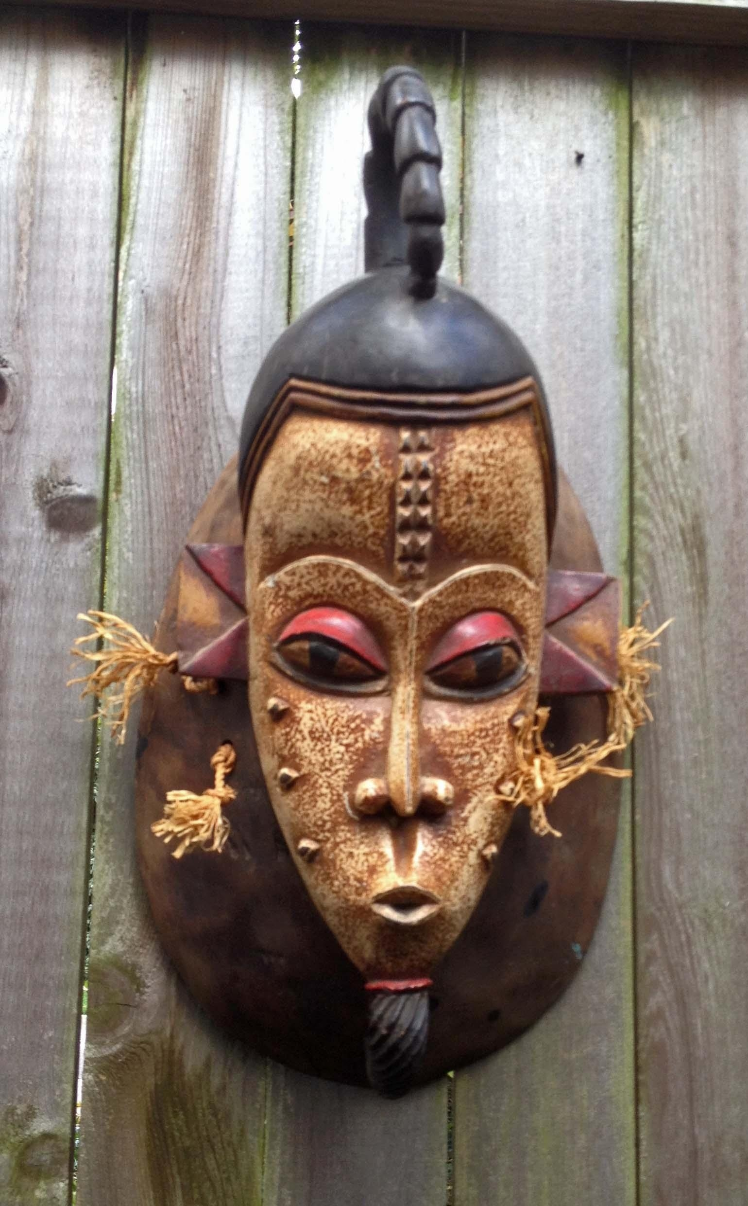 Mask,statue,tribal,art,africa,bali,java,indonesia,nepal, Within Wooden Tribal Mask Wall Art (View 4 of 20)