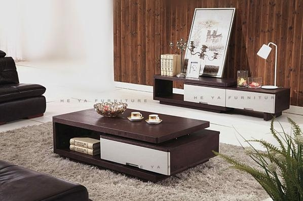 Matching Coffee Table And Tv Stand Great Modern On In Recent Tables