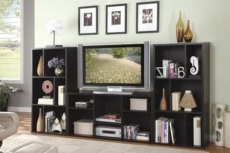 Matching Tv Stand And Bookcase – Thesecretconsul Inside Most Current Bookshelf Tv Stands Combo (Image 12 of 20)