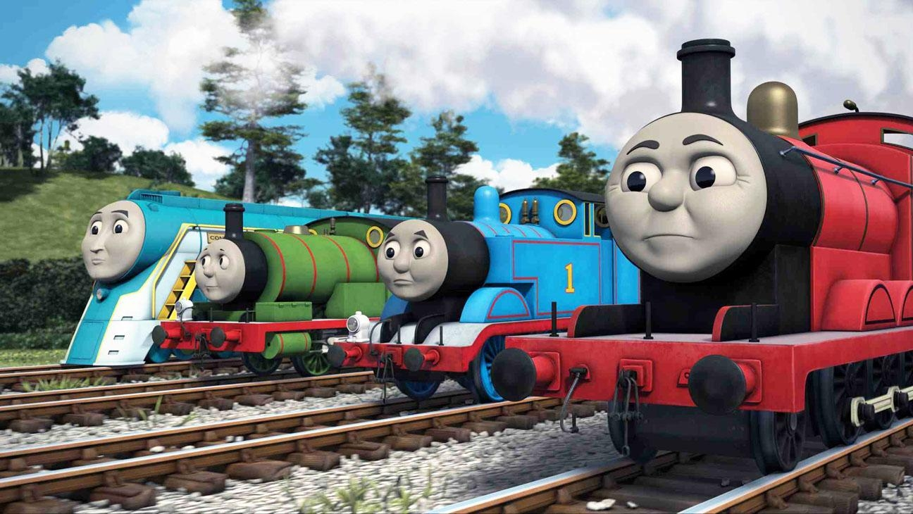 Mattel's Hit Entertainment Firing Up Thomas The Tank Engine With Thomas The Tank Wall Art (Image 8 of 20)