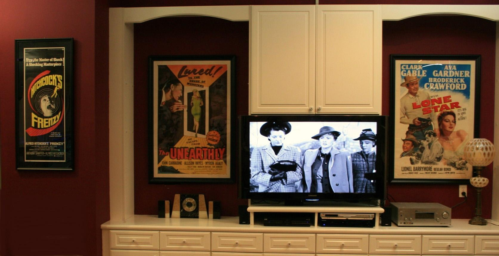 Media Room Movie Art With Movie Themed Wall Art (Image 10 of 20)
