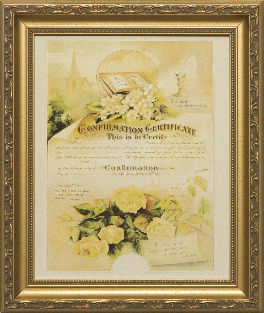 Memorial Certificate Of Marriage | Lordsart with regard to Christian Framed Wall Art