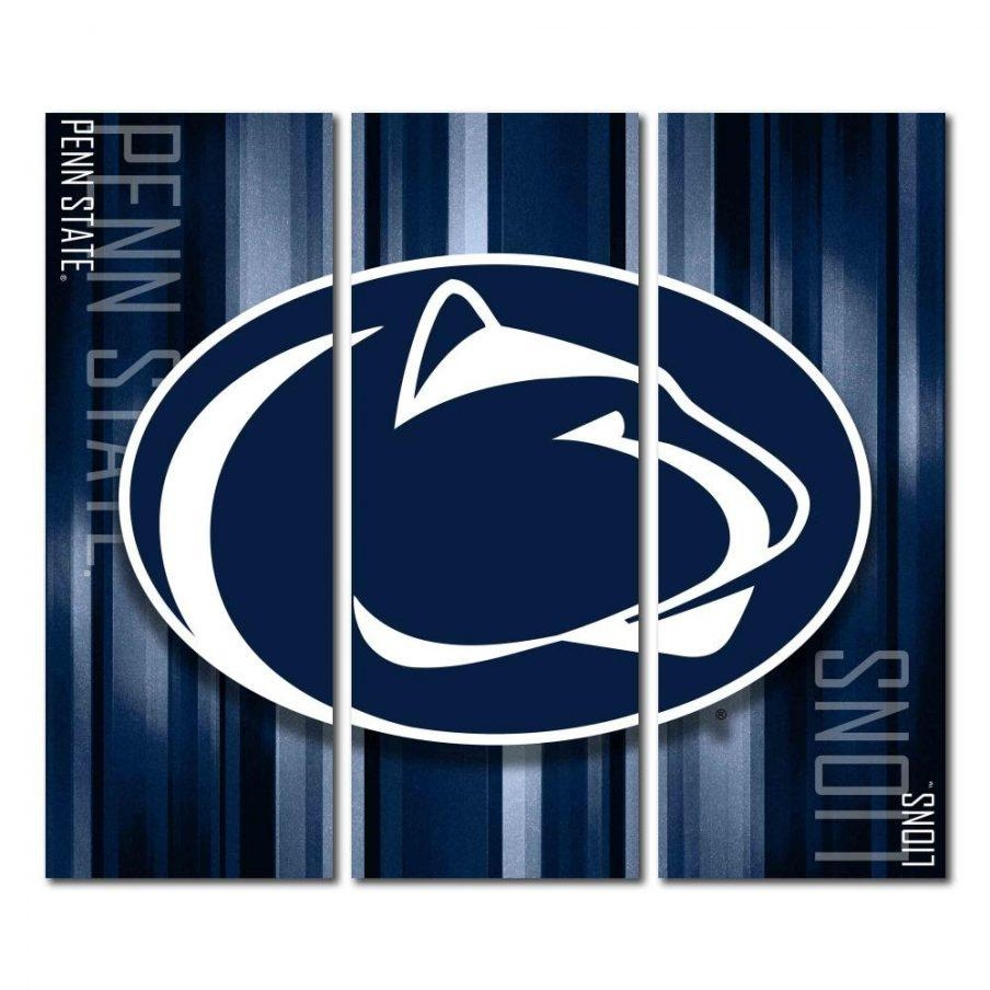 Mesmerizing Trendy Wall Penn State Nittany Lions Design Ideas Penn Intended For Penn State Wall Art (Image 12 of 20)