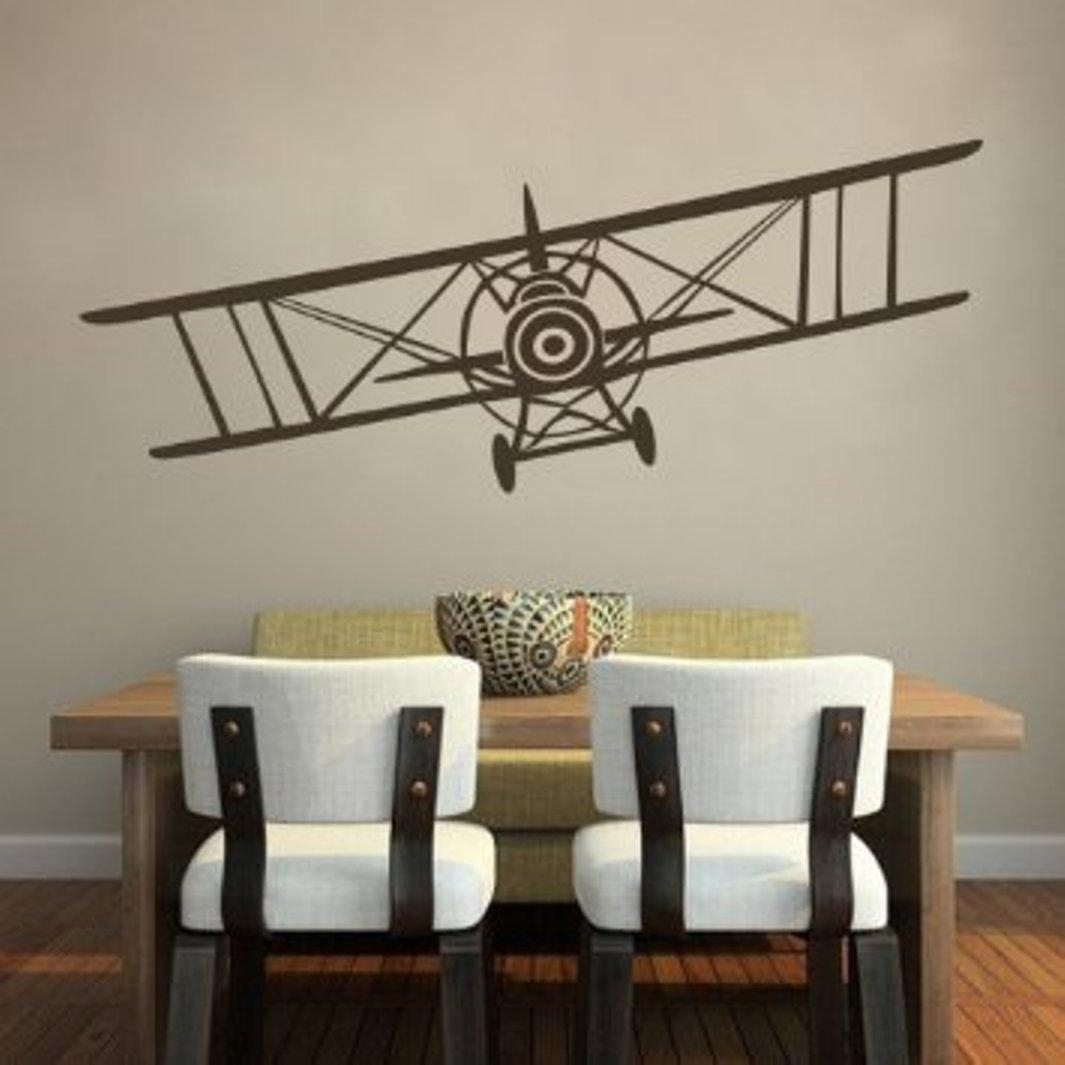 Metal Airplane Wall Decor : Airplane Wall Decor Stickers – Design With Regard To Metal Airplane Wall Art (Image 8 of 20)